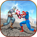Super Spider Hero vs Captain USA Superhero Revenge APK Descargar