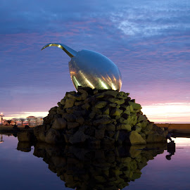 Jet egg by Brynjar Bjorgvinsson - Buildings & Architecture Statues & Monuments (  )
