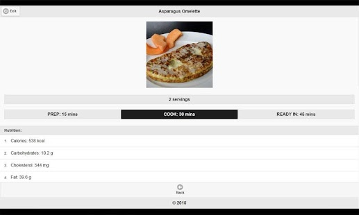 CookBook: Breakfast Recipes - screenshot