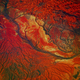 Basic colors of Mother - Earth by Stanley P. - Landscapes Travel ( red, aurstralia, colours )