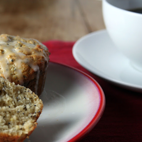 Brown Butter Lemon Poppy Seed Muffins