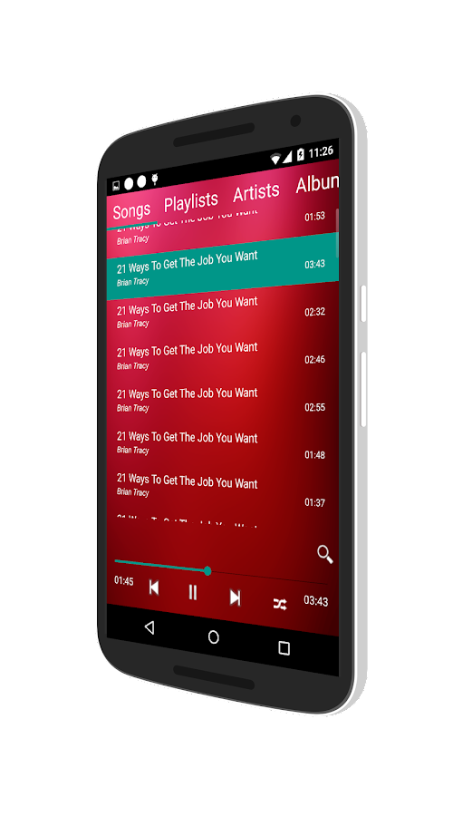 Music Player Pro Screenshot 2