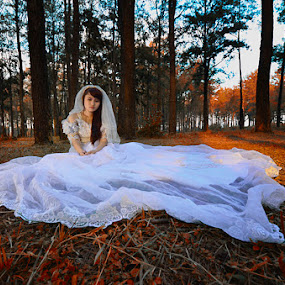 Peaceful Bride... by Goestie Rama - Wedding Bride