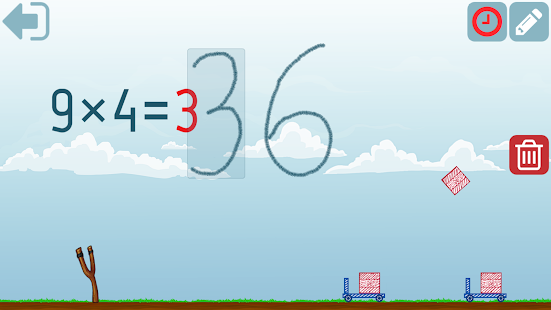 Second grade Math - Multiplication and Division Screenshot