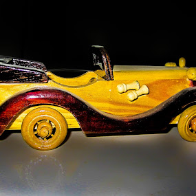 by Aamir Soomro - Artistic Objects Antiques ( car, pakistan, reflection, old, wood, toy, karachi, brown, sindh, antique, black )