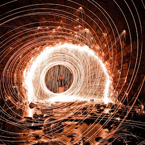 Cyclone by Aaron Crider - Abstract Light Painting