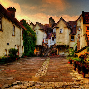The Mews by Don Alexander Lumsden - City,  Street & Park  Historic Districts ( hdr )