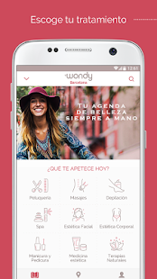 Wondy - Reservas de Belleza - screenshot