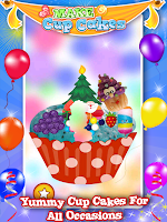 Screenshot of Make Cup Cakes - Kids Game