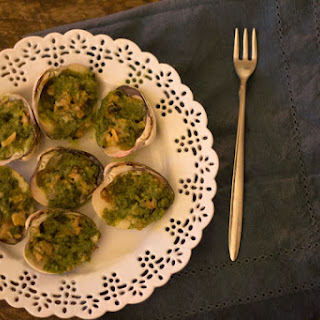 Escargot Inspired Clams with Herbed Butter