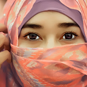 OooO  oo by Chandra Wirawan - People Portraits of Women