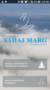 Let's Meditate Heartfulness Fitness app screenshot for Android