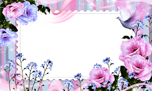 Flower HD Photo Frame - screenshot