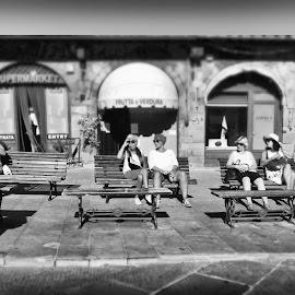 cortona by Francesco Caponi - People Street & Candids
