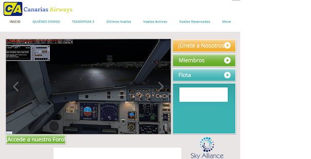 Canarias Airways - screenshot