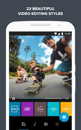 Quik – Free Video Editor for photos, clips, music screenshot 4