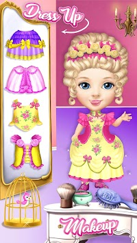 Pretty Little Princess - Dress Up, Hair & Makeup APK screenshot thumbnail 6