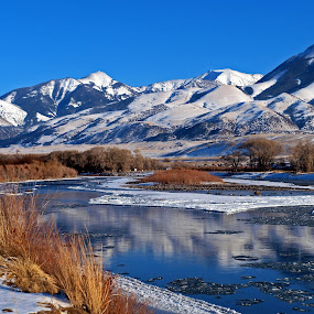 Yellowstone River by Diana Treglown - Landscapes Mountains & Hills