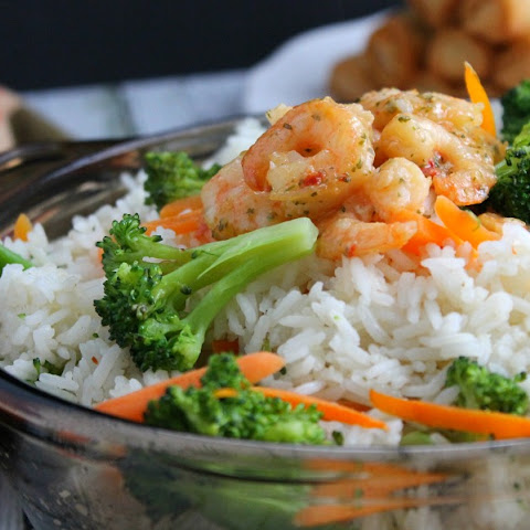 Shrimp Broccoli Rice
