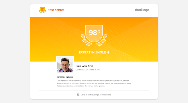 Duolingo English Test APK screenshot thumbnail 15