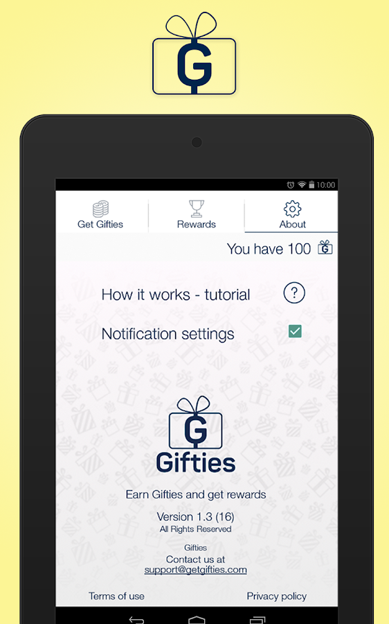Gifties - Gift Cards & Rewards Screenshot 7