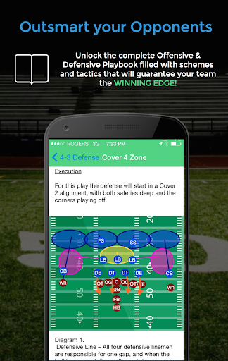 Football Blueprint - screenshot