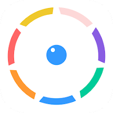 Color Bounce - Spinny Circle