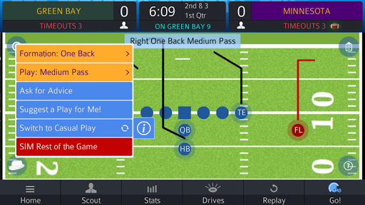 Pro Strategy Football 2015 - screenshot