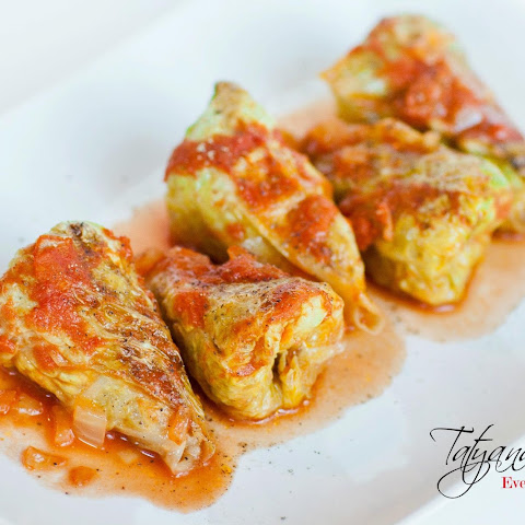 Голубцы – Cabbage Rolls Filled with Pork