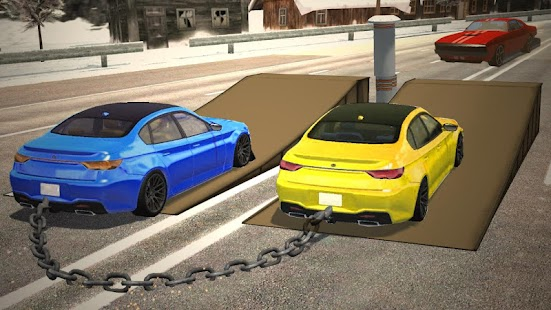 Chained Cars Racing 3D