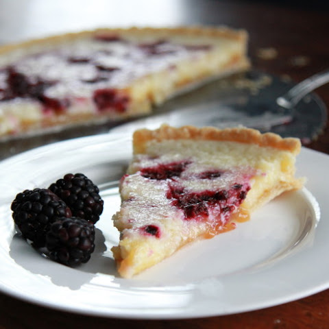 Blackberry Lemon Cream Cheese Tart