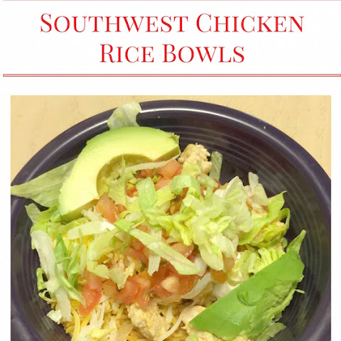 Southwest Chicken Rice Bowls