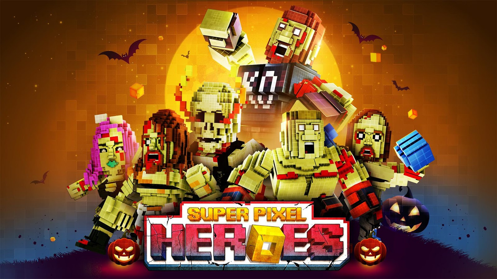 Super Pixel Heroes Screenshot