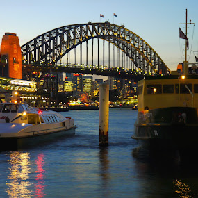 Sydney Harbour by Scott Pirrie - Buildings & Architecture Bridges & Suspended Structures