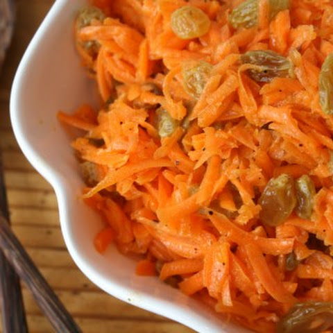 Unforgettable Carrot-Raisin Salad with Argan-Lime Dressing
