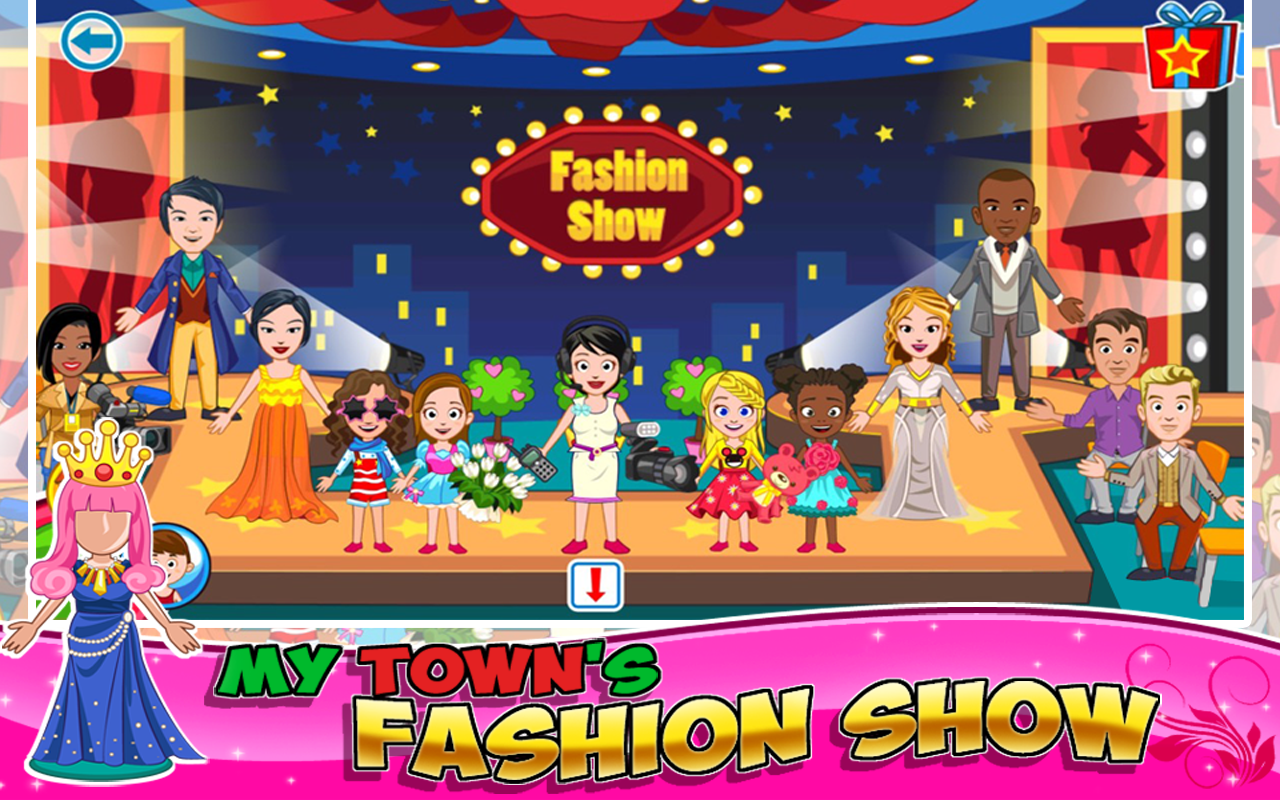 My Town : Fashion Show Screenshot