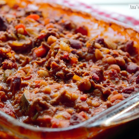 Chili Con Carne And Vegetables – My Way!
