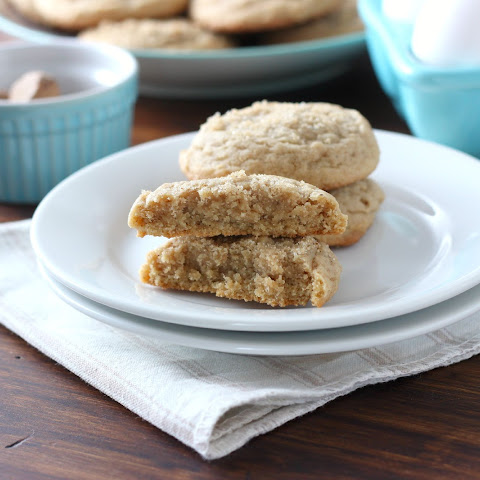 Brown Sugar Maple Nutmeg Cookies