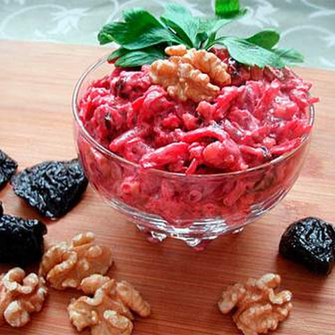 Beet Salad With Prunes