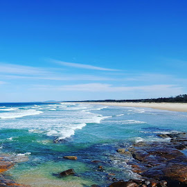 #australianbeaches #crowdybaynationalparkbackbeach #nsw #ontheseashore #onthebeach #manningvalley #midnorthcoast by Barry Cunningham - Landscapes Beaches