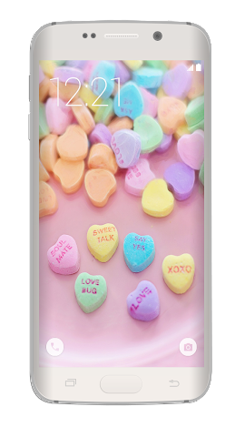 android Love Heart Wallpaper HD Screenshot 2