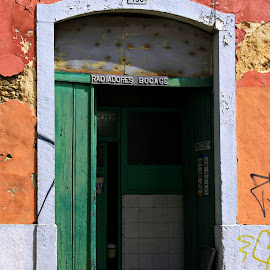 Door by Gil Reis - Buildings & Architecture Other Exteriors ( work, doors, buildings, travel, places, portugal, city )
