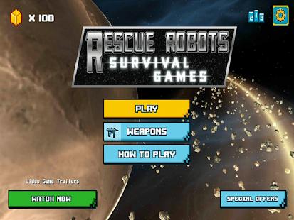 Game Rescue Robots Survival Games APK for Kindle