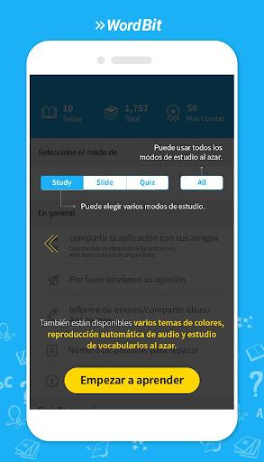 WordBit Inglés [Lockscreen] screenshot 10