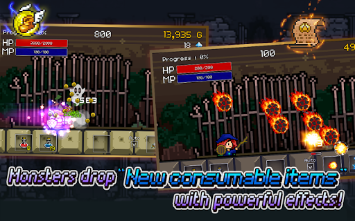 Buff Knight Advanced! - Retro RPG Runner Apk Download Free for PC, smart TV