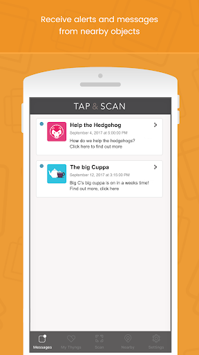 Tap & Scan