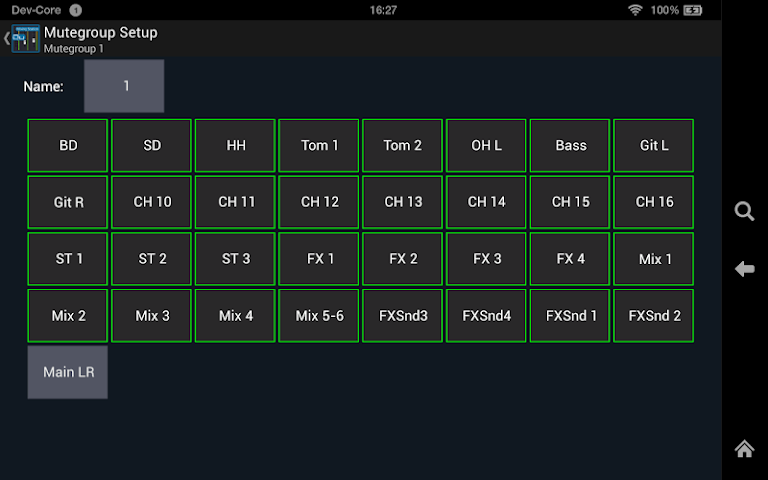 android Mixing Station Qu Pro Screenshot 10