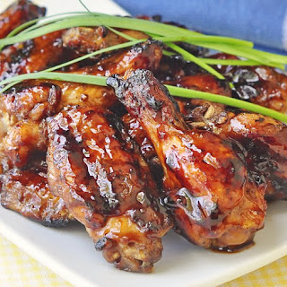 Grilled Honey Barbecue Wings