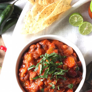 The Best Spicy Vegan Chili