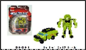 """Робот серии """"Город Игр"""" Трансформер S - Машинка, зеленый"""